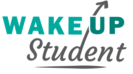 Wake up logo zonder kader
